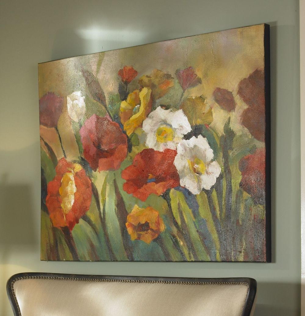 Uttermost Company - Spring Has Sprung Hand Painted Canvas