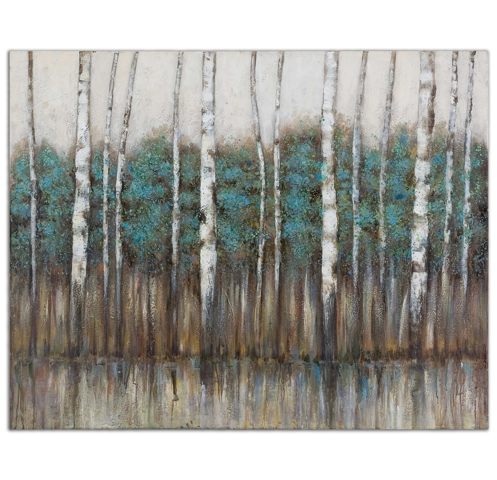 Uttermost Company - Edge of the Forest Hand Painted Canvas