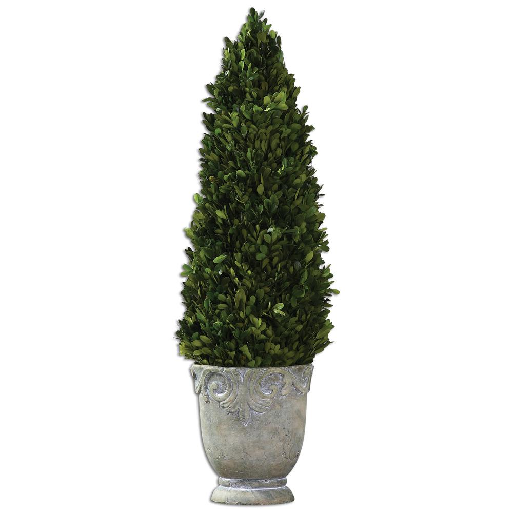 Uttermost Company - Boxwood Cone Topiary