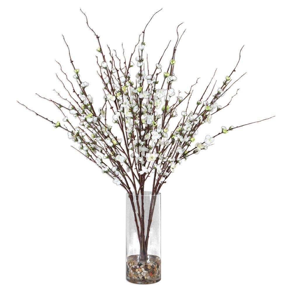Uttermost Company - Quince Blossoms Silk Centerpiece