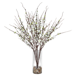 Thumbnail of Uttermost Company - Quince Blossoms Silk Centerpiece
