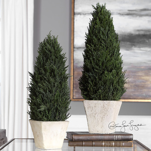 Thumbnail of Uttermost Company - Cypress Cone Topiaries, Set/2