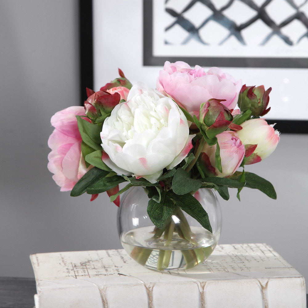 Uttermost Company - Blaire Peony Bouquet