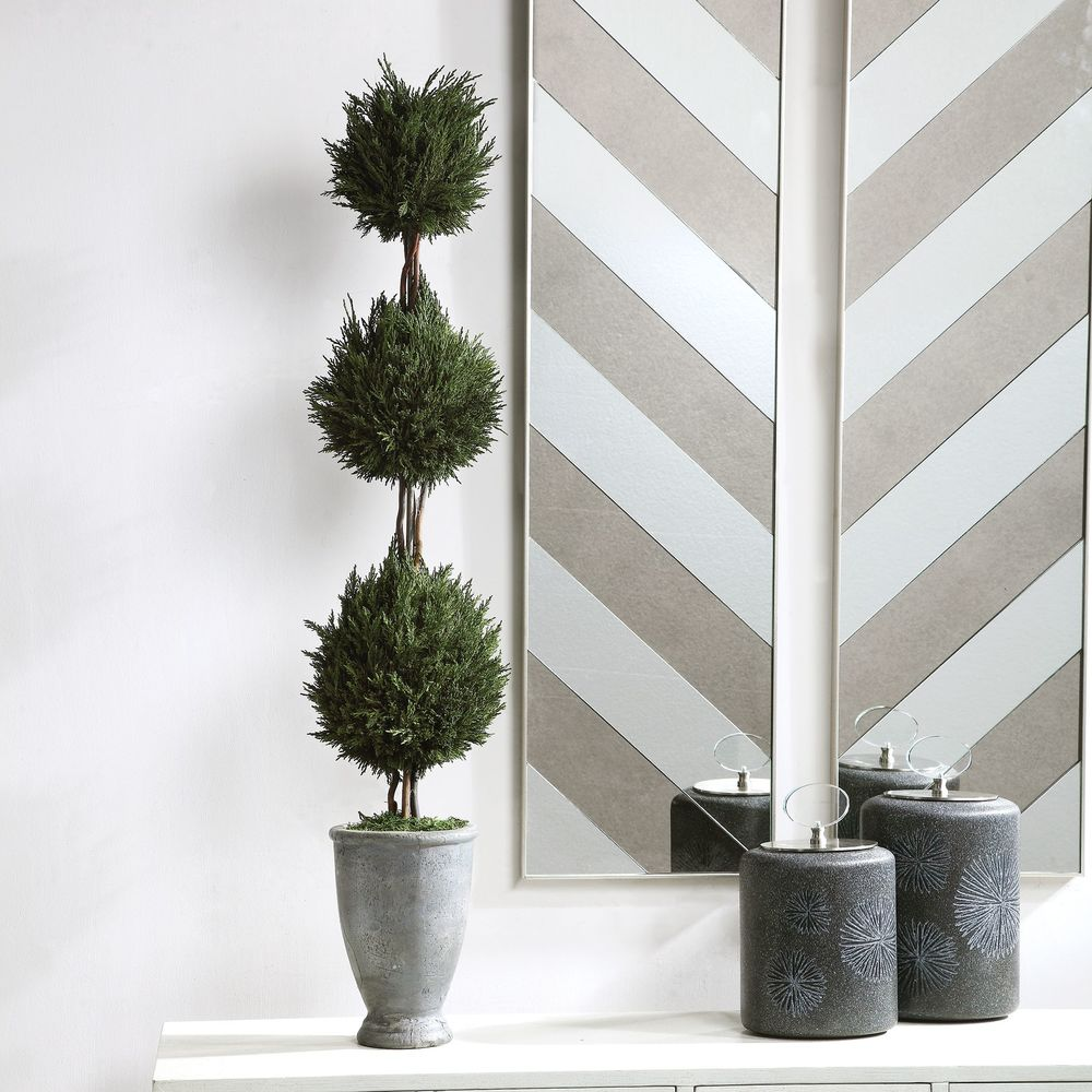 Uttermost Company - Cypress Triple Topiary