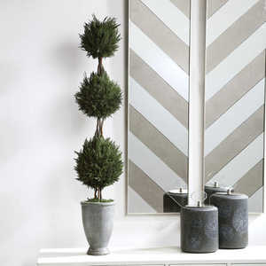 Thumbnail of Uttermost Company - Cypress Triple Topiary