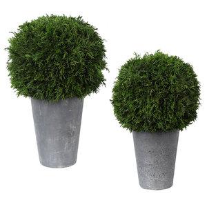 Thumbnail of Uttermost Company - Cypress Globes, Set/2