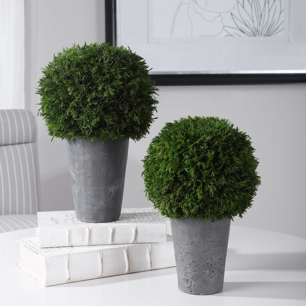Uttermost Company - Cypress Globes, Set/2
