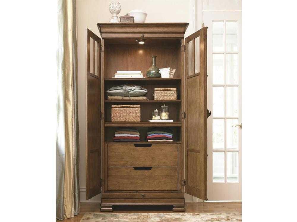 Universal Furniture - New Lou Tall Cabinet Armoire