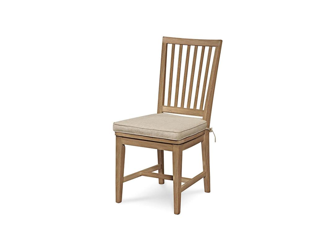 UNIVERSAL FURNITURE - Curated Slat Back Side Chair