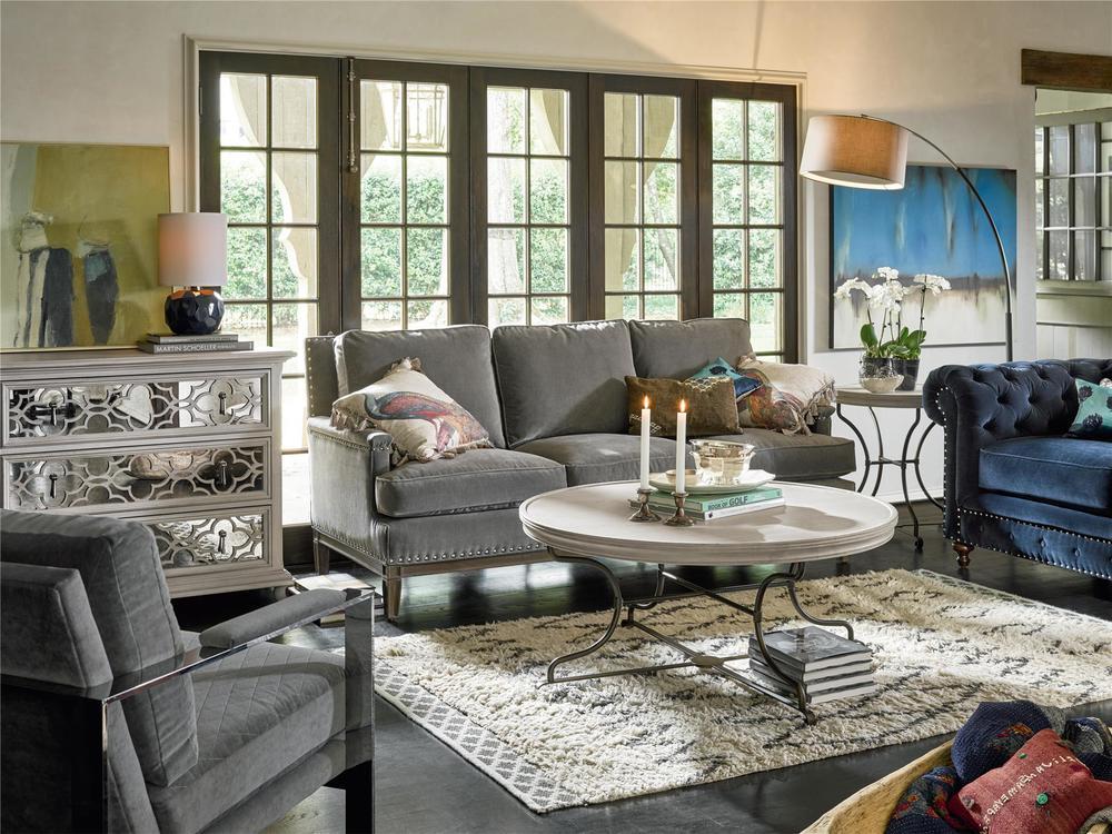 Universal Furniture - Berkeley Chair (New Navy Velvet)