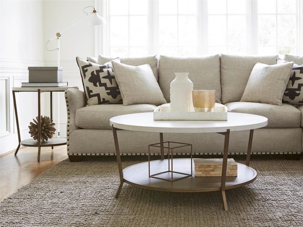 Universal Furniture - Playlist Round End Table