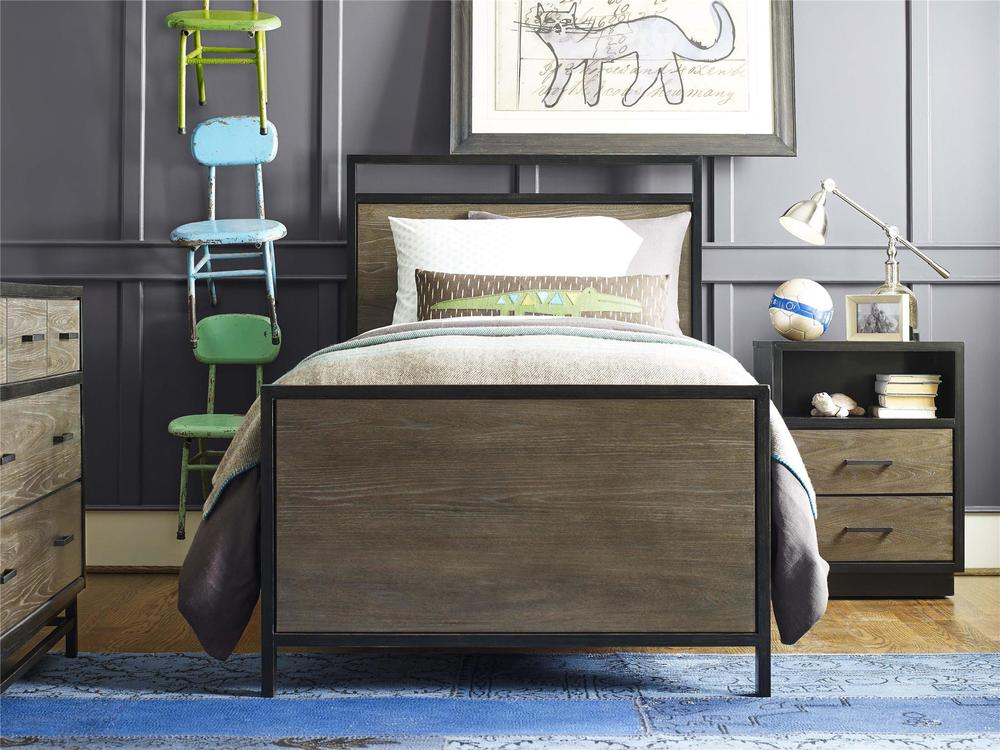 Universal Furniture - Twin Panel Bed
