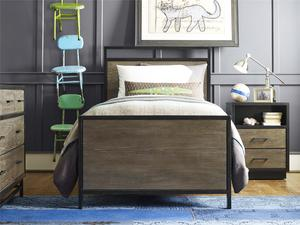 Thumbnail of Universal Furniture - Twin Panel Bed