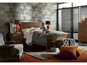 Thumbnail of Universal Furniture - Barkley Ottoman (Grey Cloud Velvet)