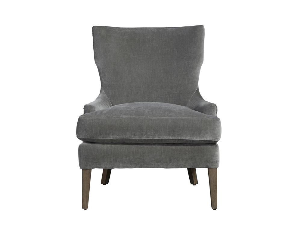 Universal Furniture - Aubrey Accent Chair (Grey Cloud Velvet)