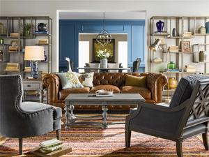 Thumbnail of Universal Furniture - Aubrey Accent Chair (Grey Cloud Velvet)