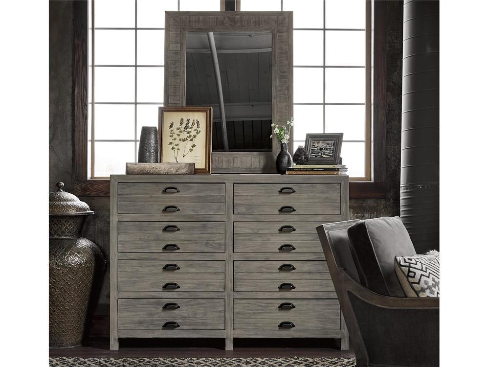 Universal Furniture - Gilmore Mirror