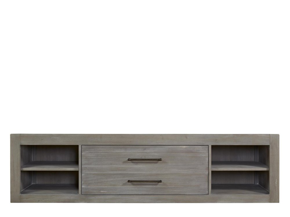 Universal Furniture - Storage Unit with Side Rail Panel
