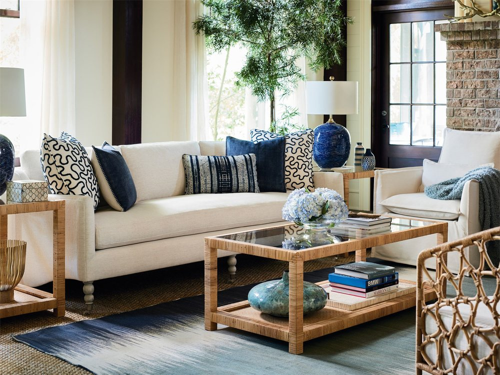 Universal Furniture - Kiawah Sofa (Nomad Snow)