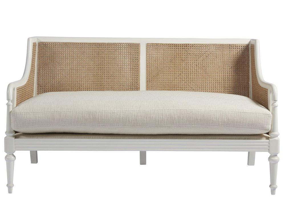 Universal Furniture - Stone Harbor Loveseat (Icelandic White)