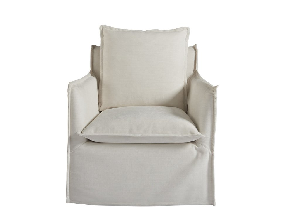 Universal Furniture - Siesta Key Swivel Chair (Daily Snow)