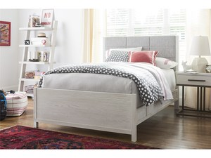 Thumbnail of Universal Furniture - Upholstered Bed with Rails, Queen