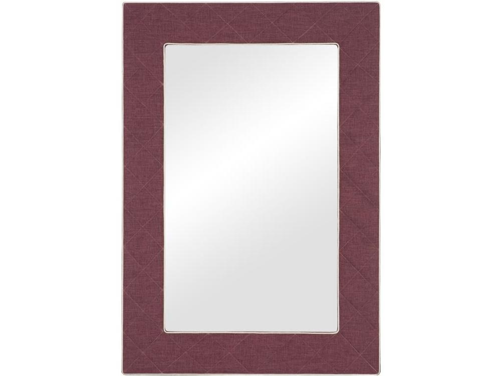 Vanguard Furniture - The Brewster Upholstered Button Quilted Mirror