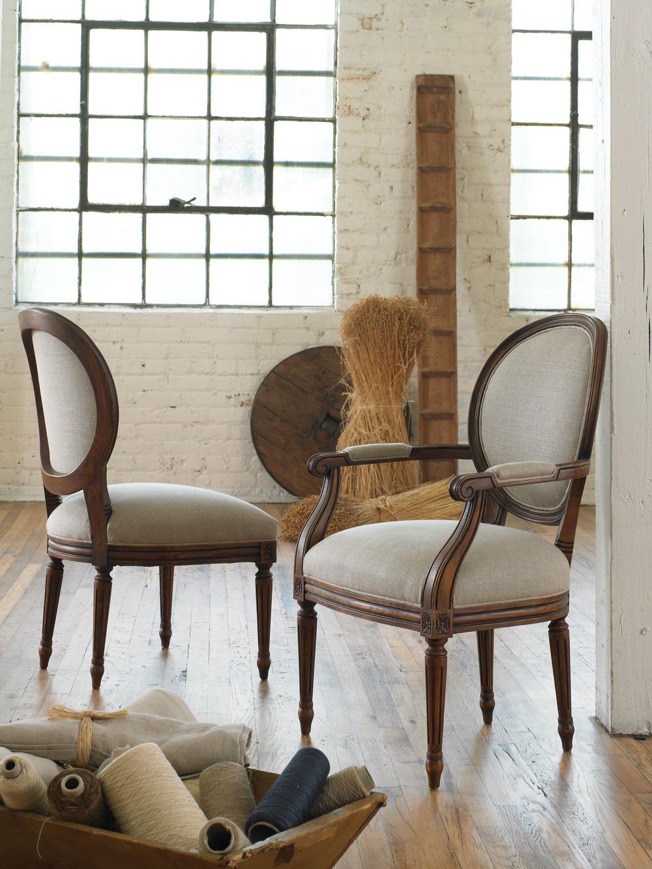 Vanguard Furniture - Genevieve Arm Chair