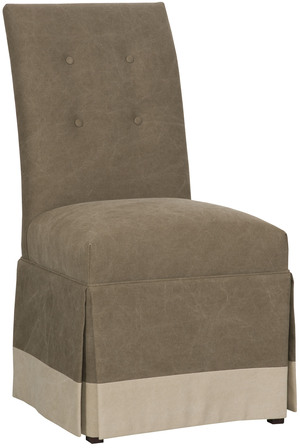 Thumbnail of VANGUARD FURNITURE COMPANY - Butler Buttoned Back Skirted Side Chair
