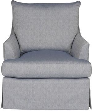 Thumbnail of Vanguard Furniture - Plain Waterfall Skirt Swivel Chair