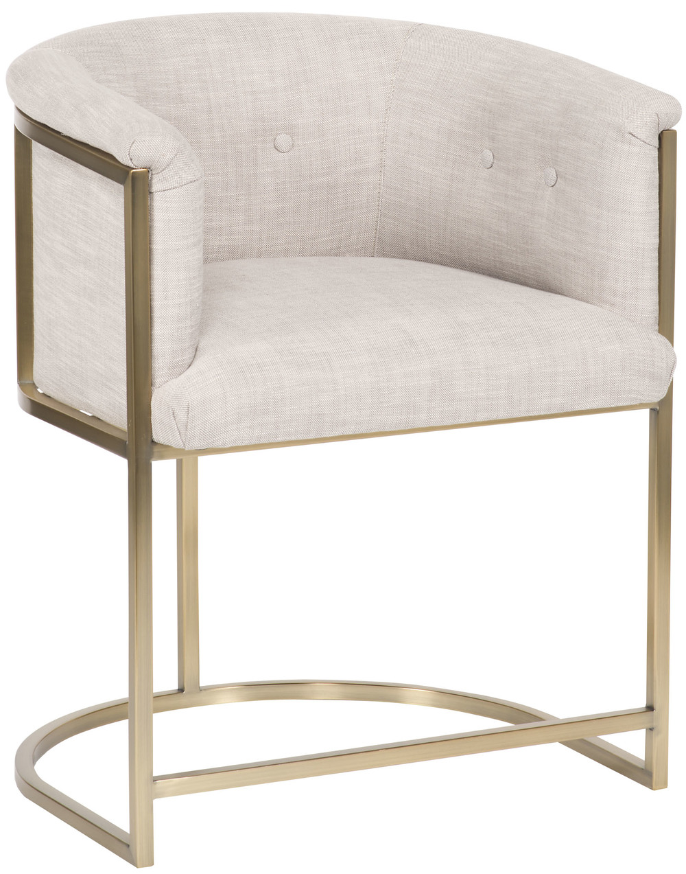 VANGUARD FURNITURE COMPANY - Skye Button Back Metal Frame Chair