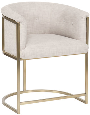 Thumbnail of VANGUARD FURNITURE COMPANY - Skye Button Back Metal Frame Chair