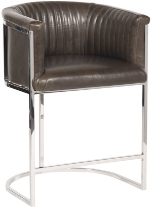 Thumbnail of Vanguard Furniture - Harrison Channel Back Metal Bar Stool