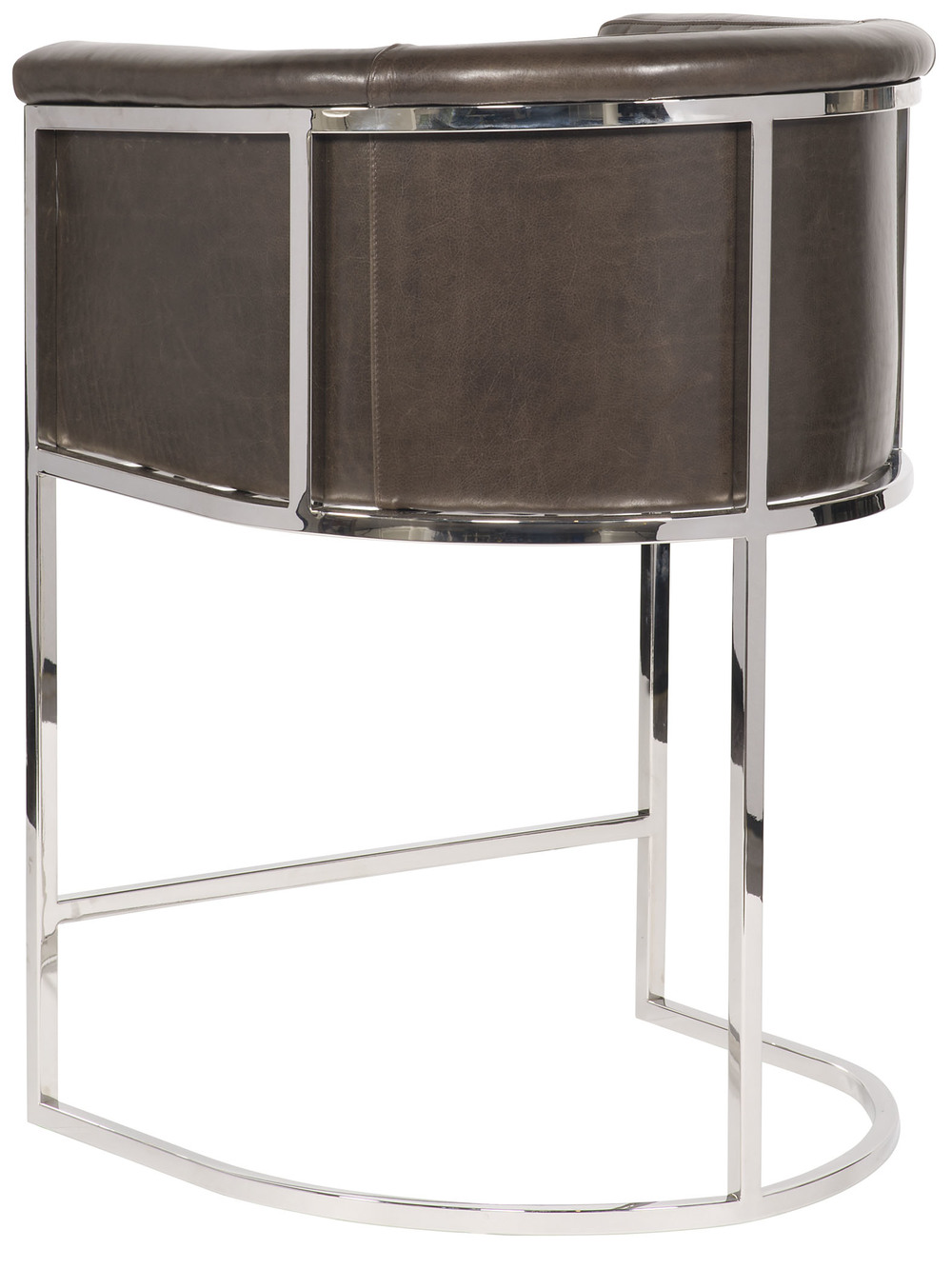 Vanguard Furniture - Harrison Channel Back Metal Bar Stool