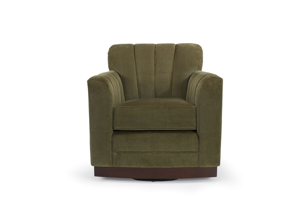 Vanguard Furniture - Paris Swivel Channel Back Chair