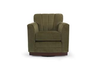 Thumbnail of Vanguard Furniture - Paris Swivel Channel Back Chair