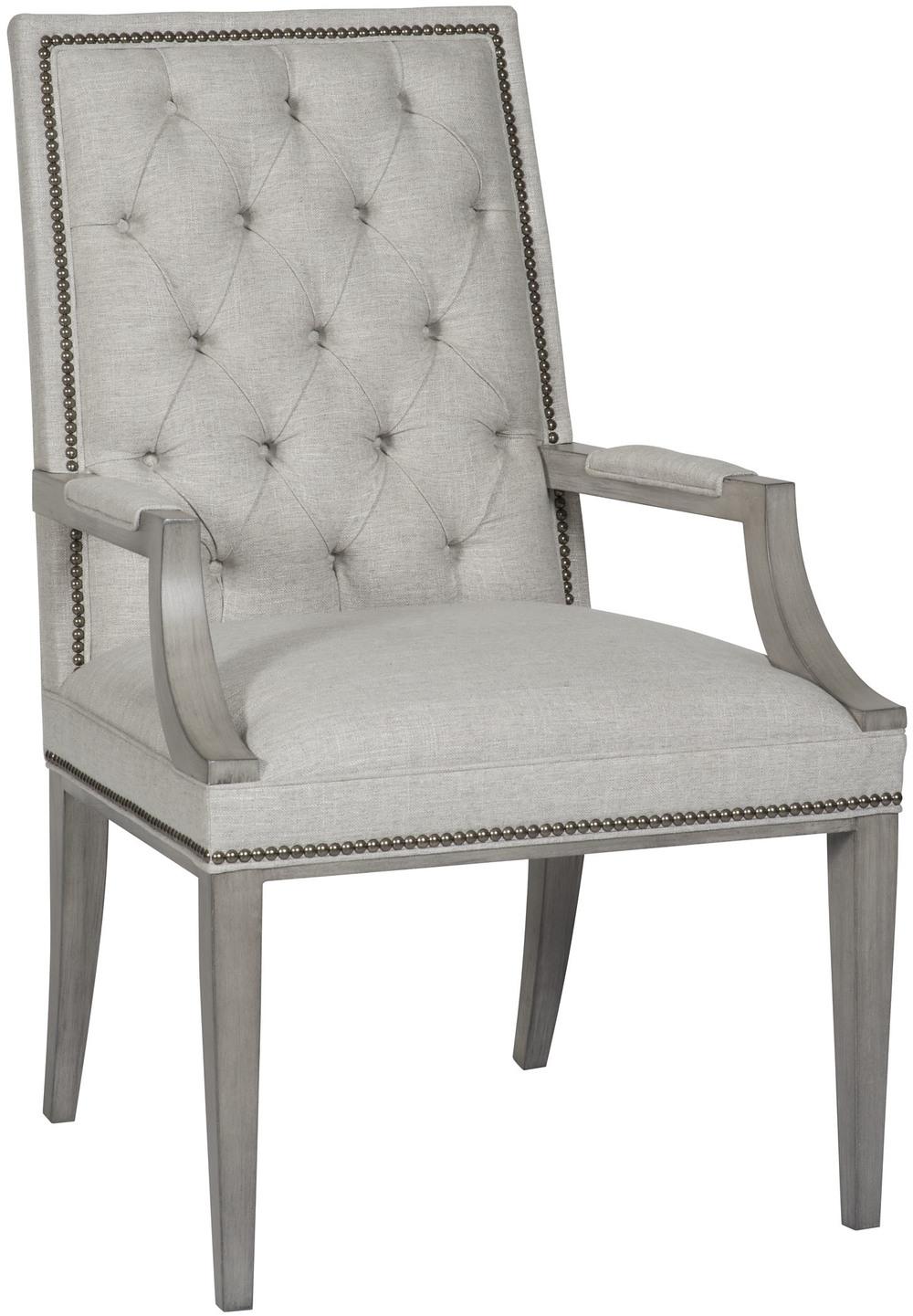 Vanguard Furniture - Hanover Button Back Arm Chair