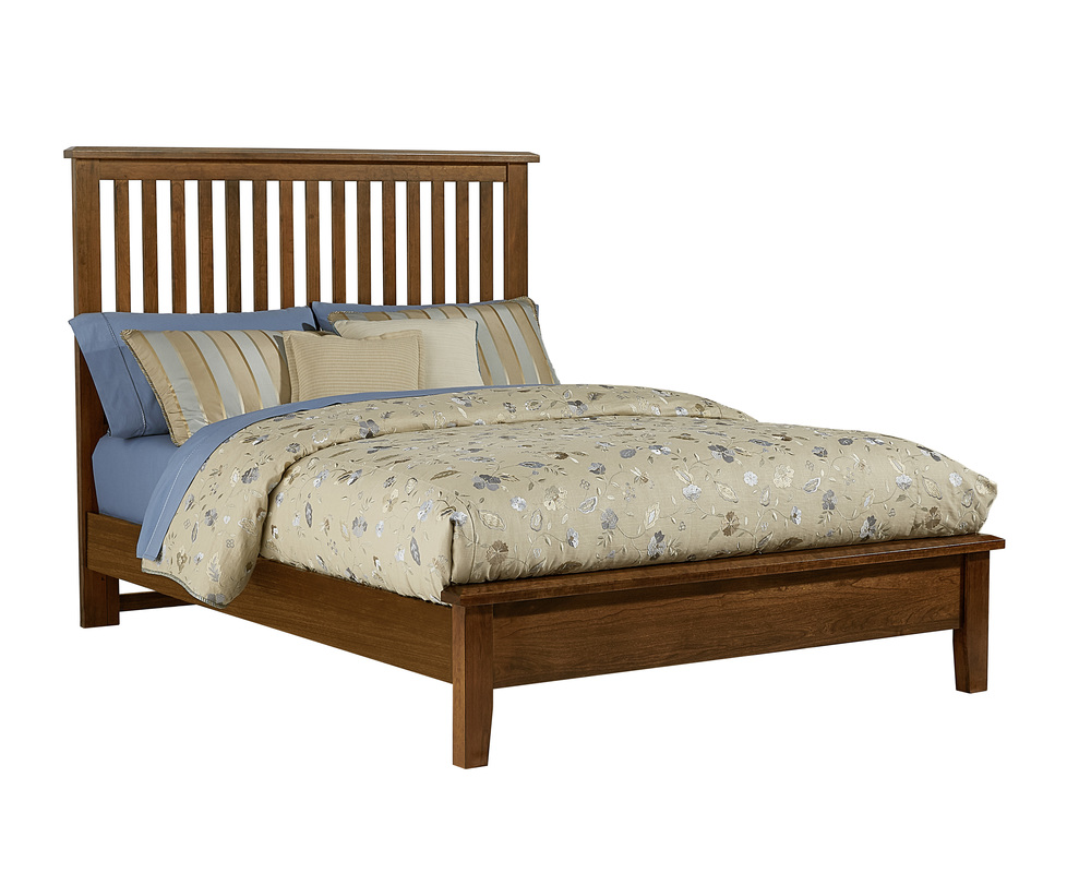 Vaughan Bassett - Slat Bed With Low Profile Footboard