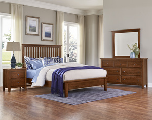 Thumbnail of Vaughan Bassett - Slat Bed With Low Profile Footboard