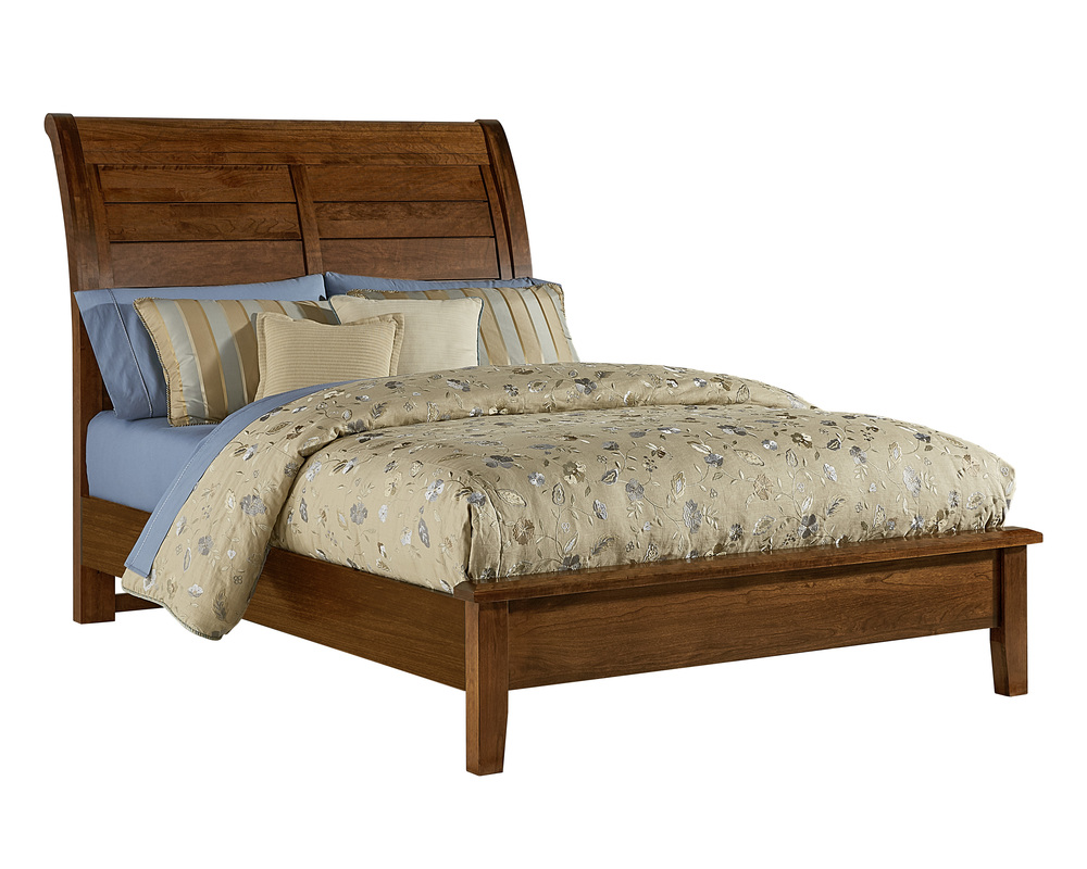 Vaughan Bassett - Sleigh Bed With Low Profile Footboard