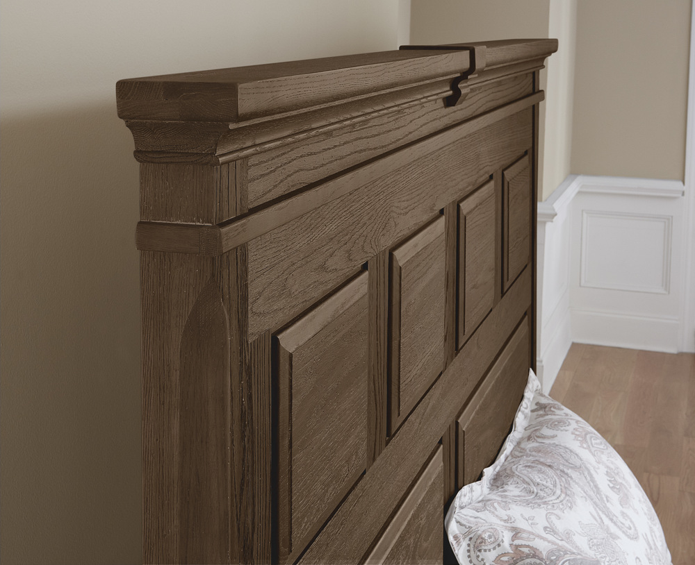 Vaughan Bassett - Mansion Bed With Decorative Side Rails