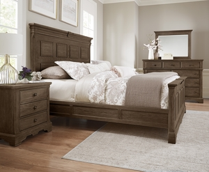 Thumbnail of Vaughan Bassett - Mansion Bed With Decorative Side Rails