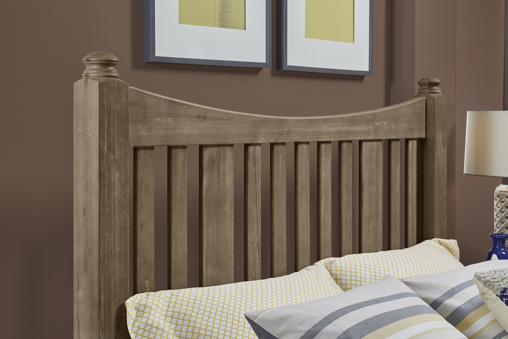 Vaughan Bassett - Slat Poster Bed With Slat Poster Footboard