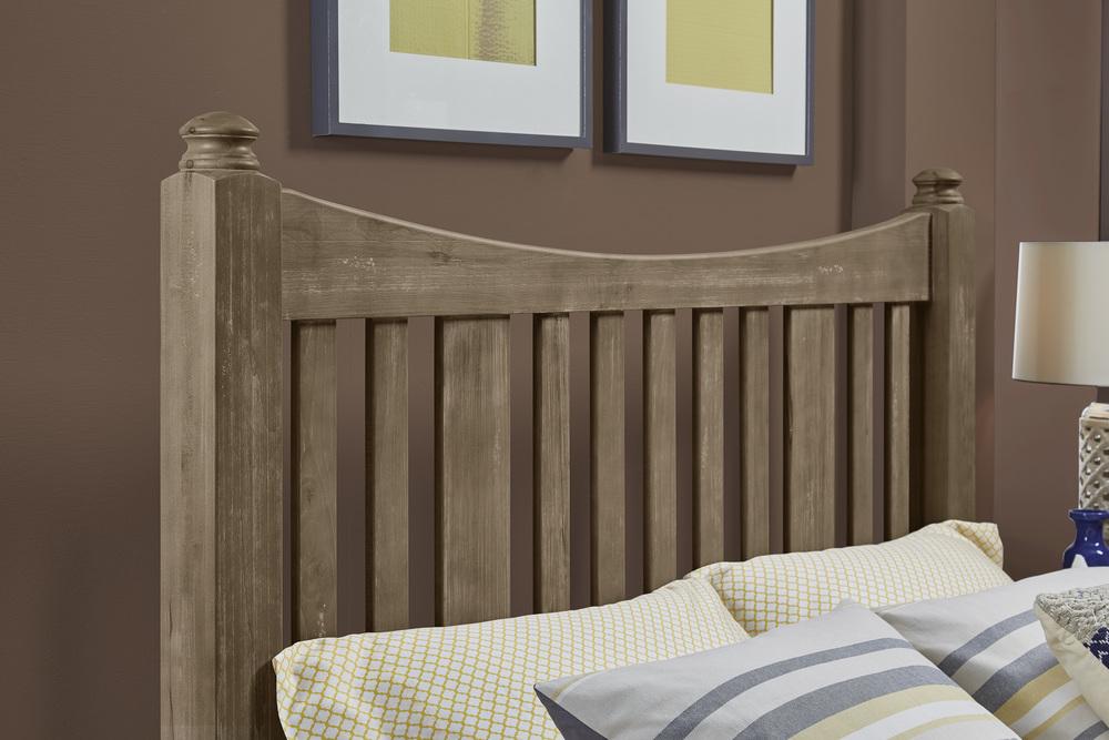 Vaughan Bassett - Slat Poster Bed With Slat Poster Footboard