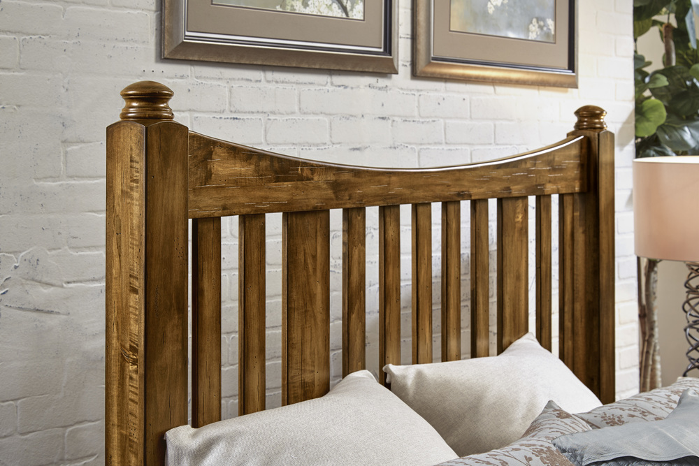 Vaughan Bassett - Slat Poster Bed With Storage Footboard