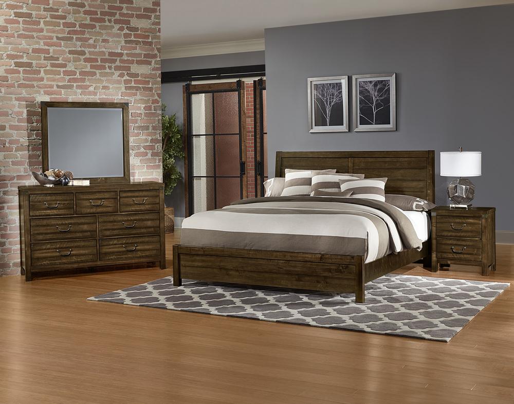 Vaughan Bassett - Plank Bed