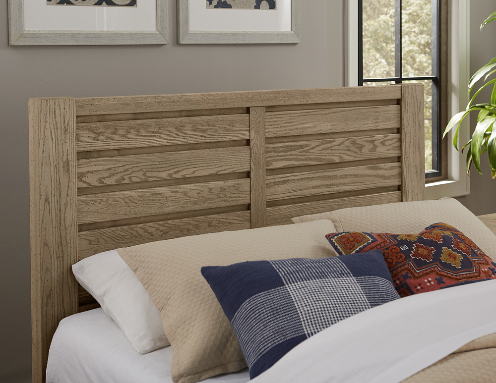 Vaughan Bassett - Horizontal Plank Bed