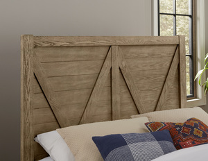 Thumbnail of Vaughan Bassett - V Panel Bed With 1 Side Storage Unit