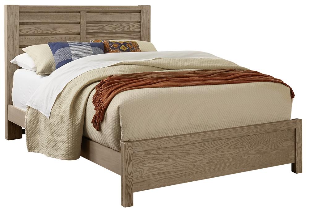 Vaughan Bassett - Horizontal Plank Bed With Platform Base