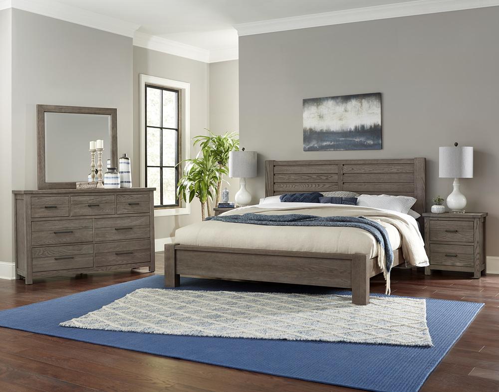 Vaughan Bassett - Horizontal Plank Bed